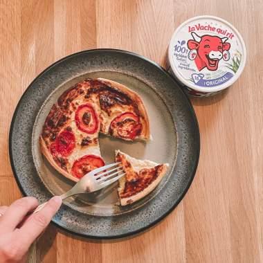 Quiche à La Vache qui rit® et tomates